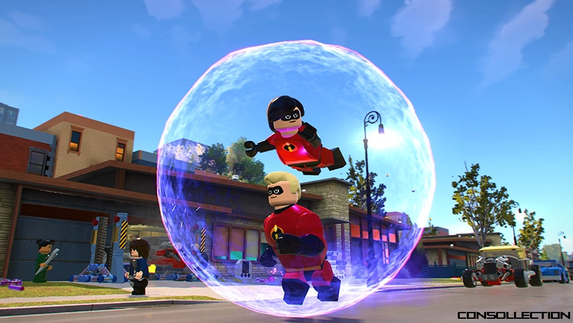 Les Indestructibles LEGO Disney Pixar