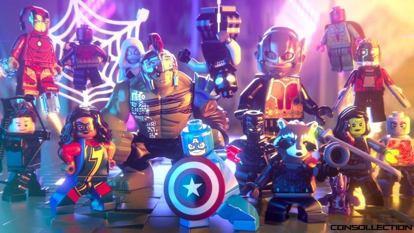 Les personnages de LEGO Marvel Super Heroes 2