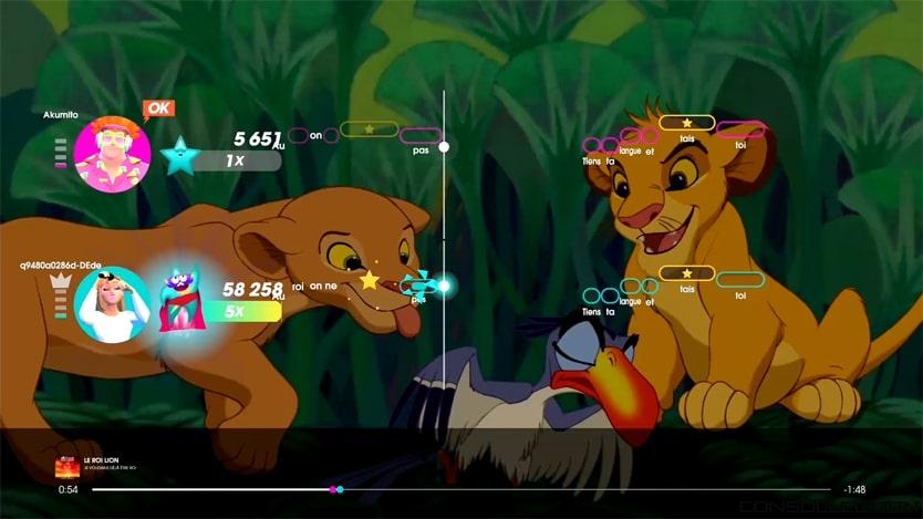 Let´s Sing 2021 : Le Roi Lion - Je voudrais déjà être roi