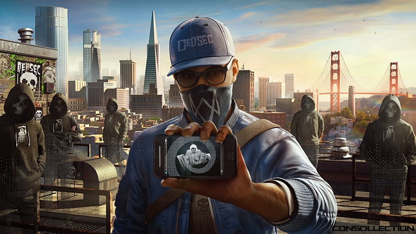 Marcus Holloway dans Watch Dogs 2