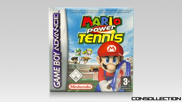 Mario Power Tennis : Cover front