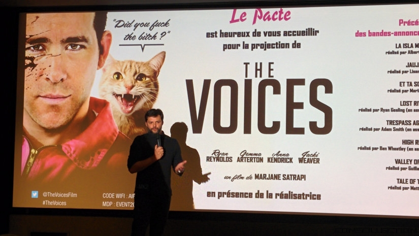 Marjane Satrapi pour The Voices