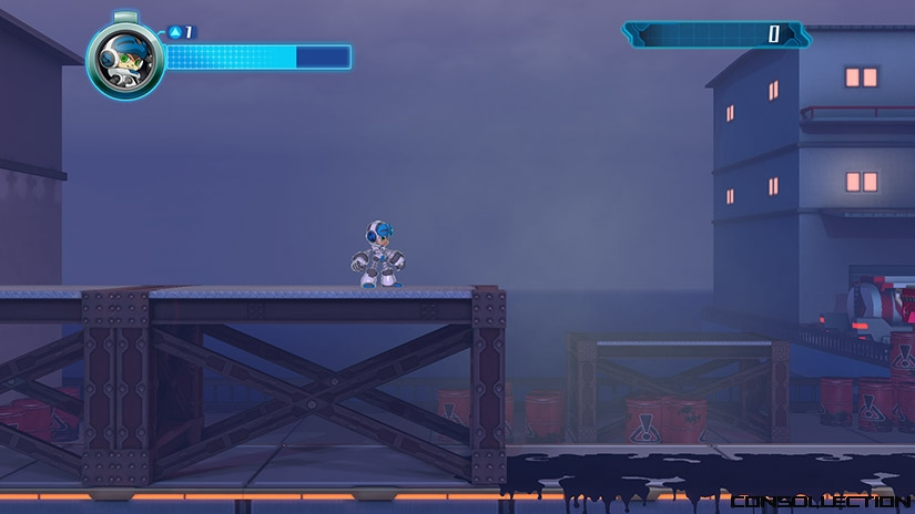 Un niveau de Mighty No. 9