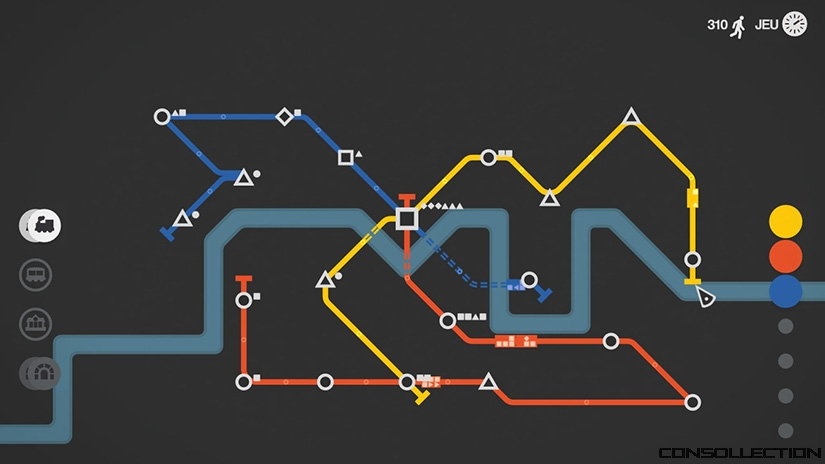 Mini Metro Switch - Mode nuit
