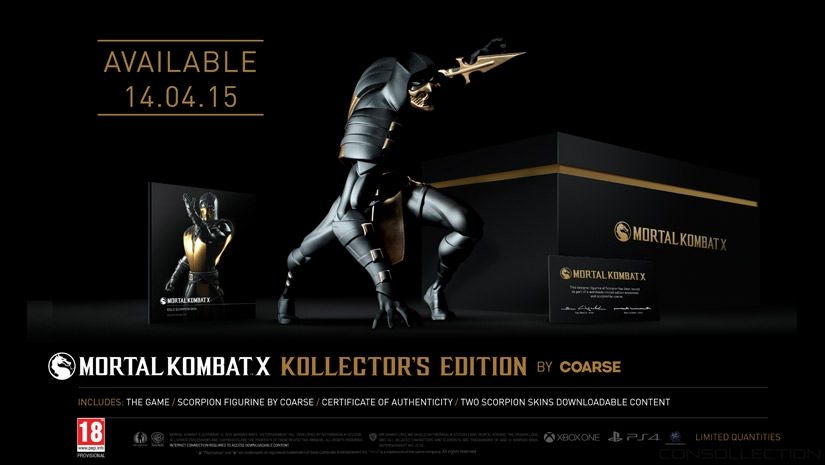 Mortal Kombat X: Kollector´s Edition by Coarse