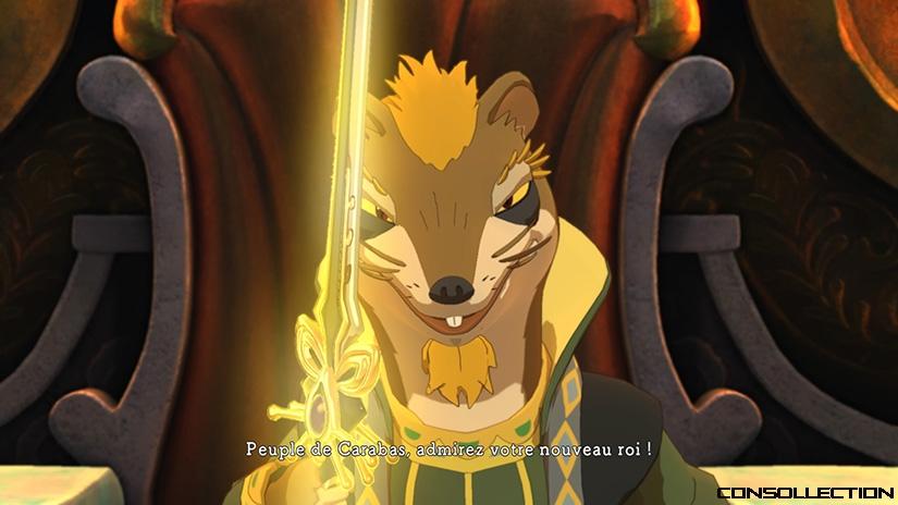 Peuple de Carabas, admirez votre nouveau roi !