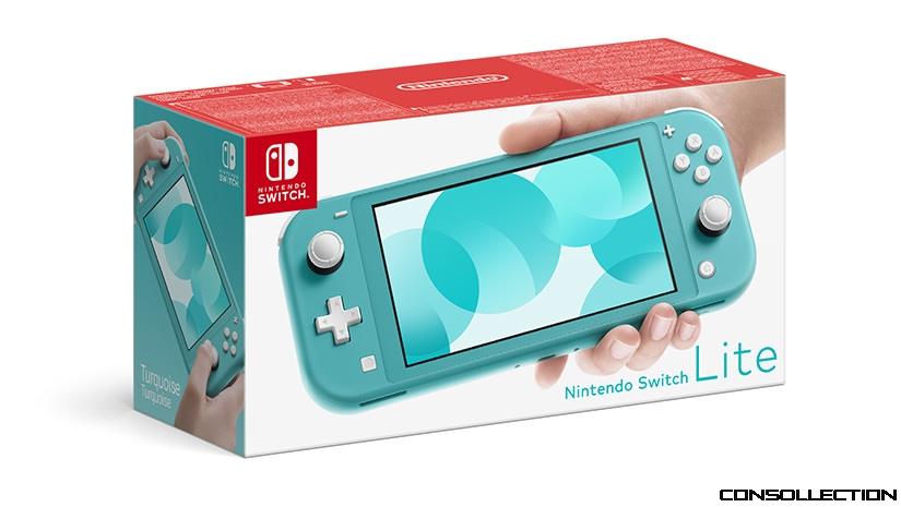 Nintendo Switch Lite Bleu Turquoise