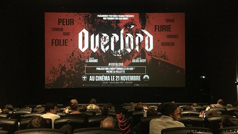 Overlord salle 4DX Pathé La Villette