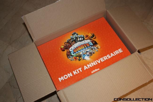 Pack anniversaire Skylanders