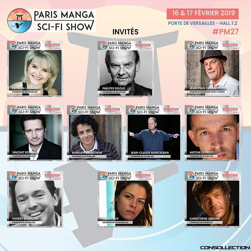 Paris Manga février 2019 : Les invités