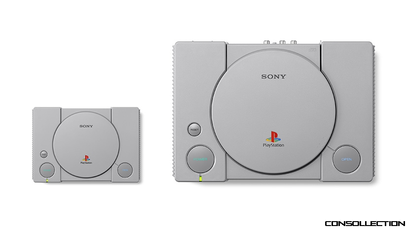 PlayStation Classic 2018 et 1994