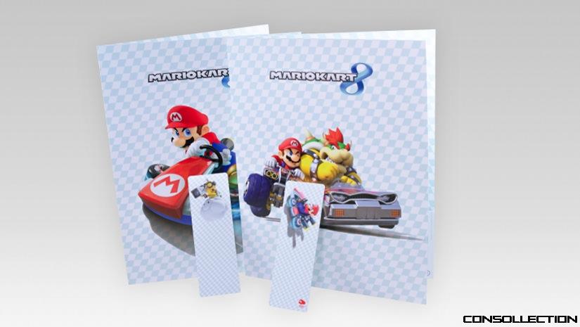Pochettes Mario Kart 8 et set de marque-pages