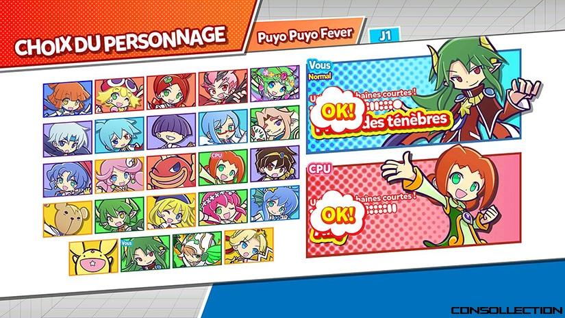 Liste des personnages Puyo Puyo Champions