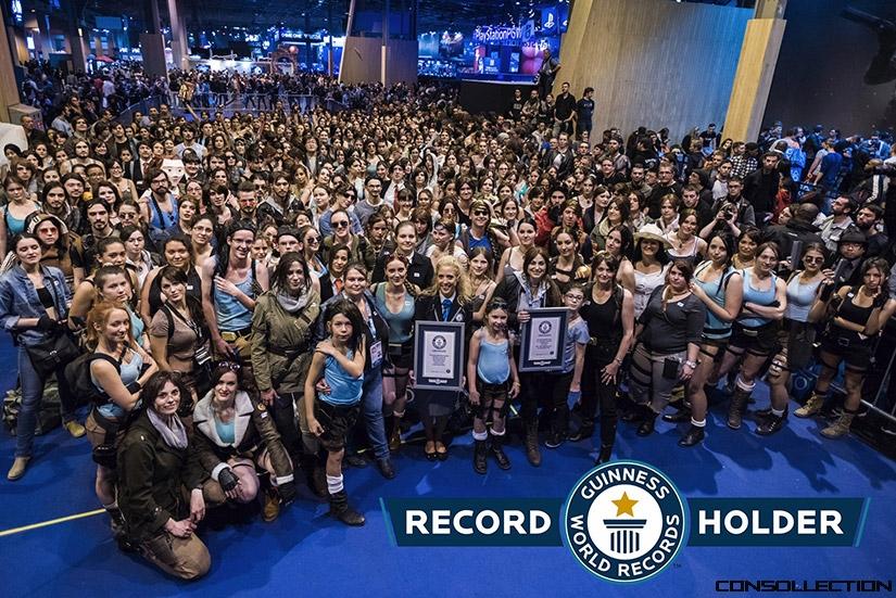 Record du monde exceptionnel pour les 20 ans de la saga Tomb Raider