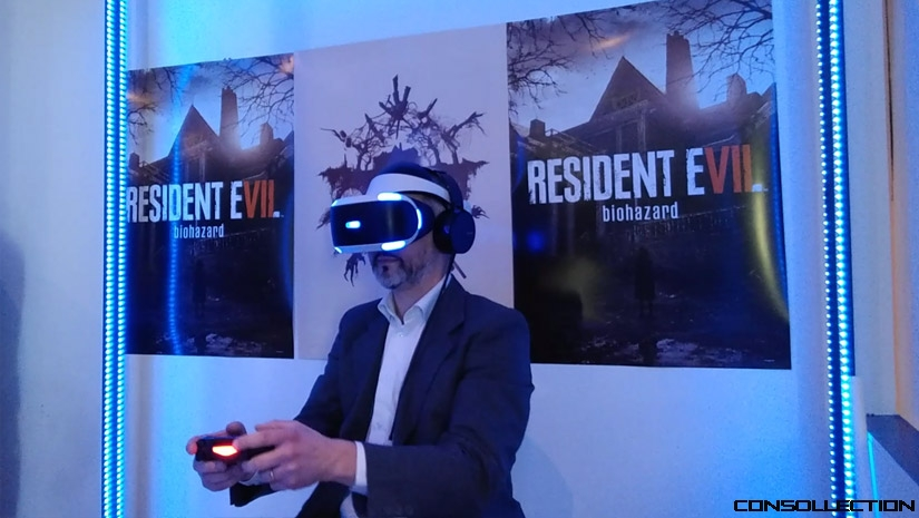Resident Evil 7 au PlayStation VR Experience