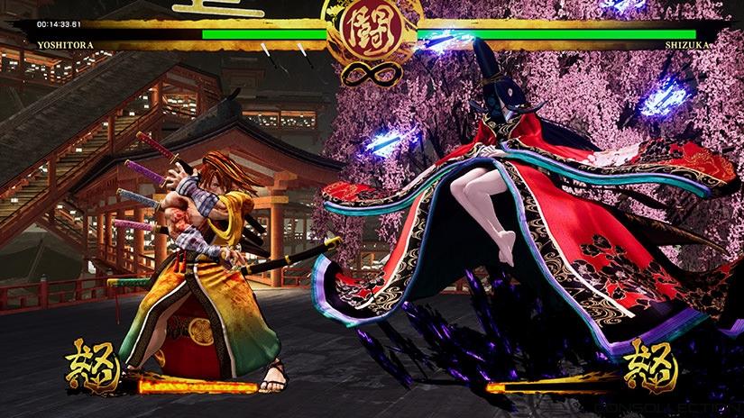 Samurai Shodown : YOSHITORA vs SHIZUKA