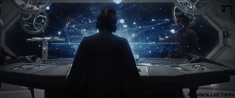 La princesse Leia dans Star Wars 8