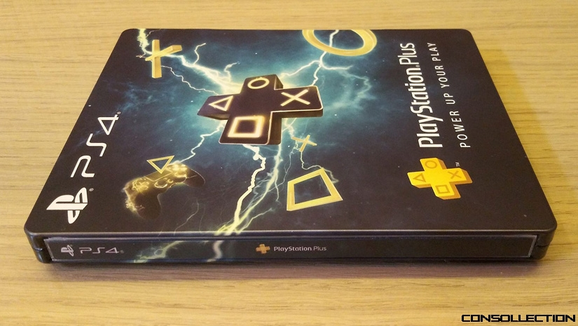 Steelbook PlayStation Plus