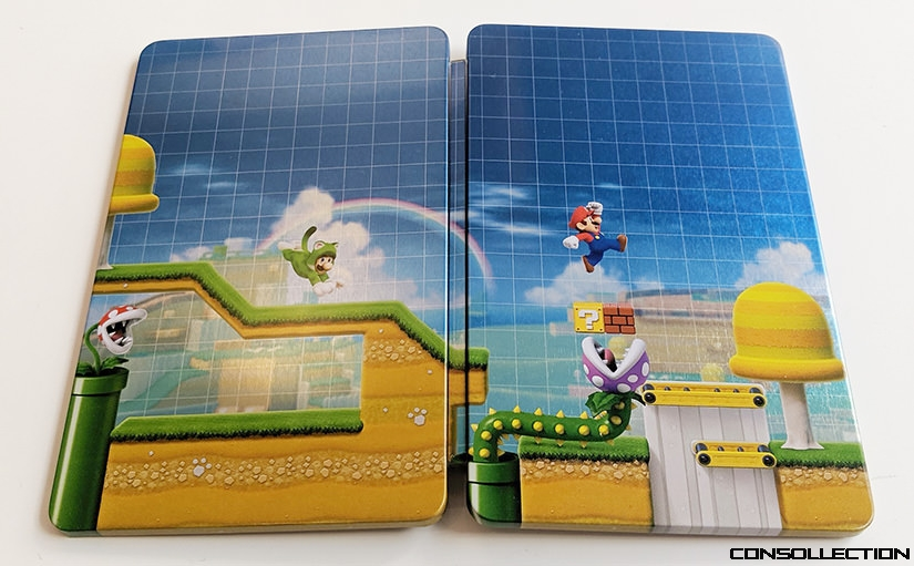 Steelbook Super Mario Maker 2