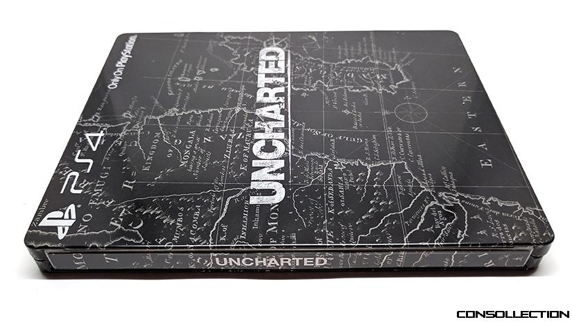 Steelbook Uncharted PS4