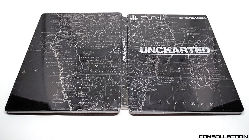Steelbook Uncharted PS4
