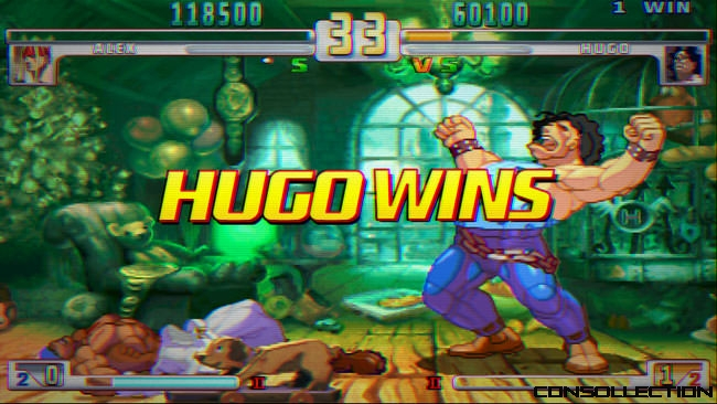 Street Fighter III: 3rd Strike Online Edition - Scanlines