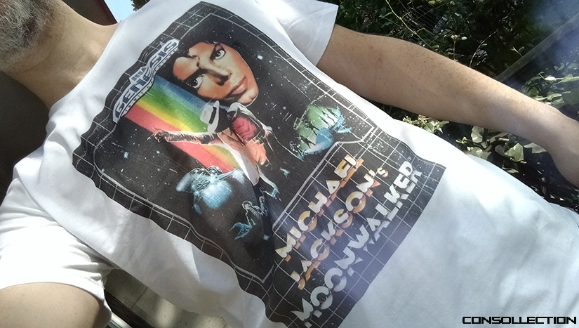 T-Shirt Gaming Michael Jackson´s Moonwalker
