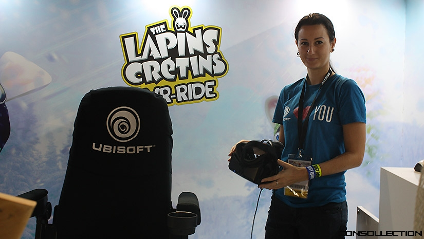 The Lapins Crétins VR-Ride : Stand Ubisoft