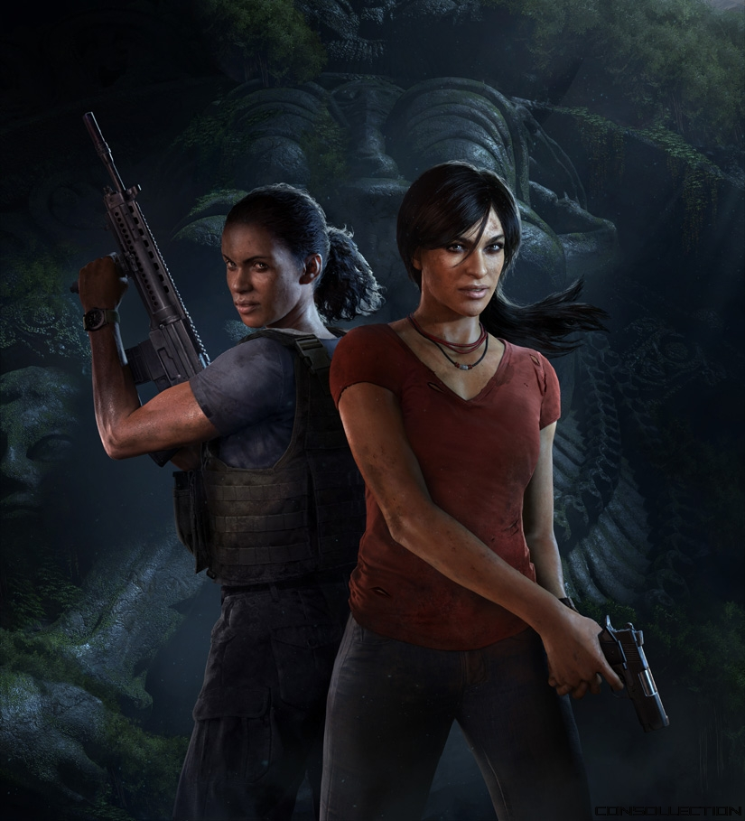 Artwork Uncharted: The Lost Legacy