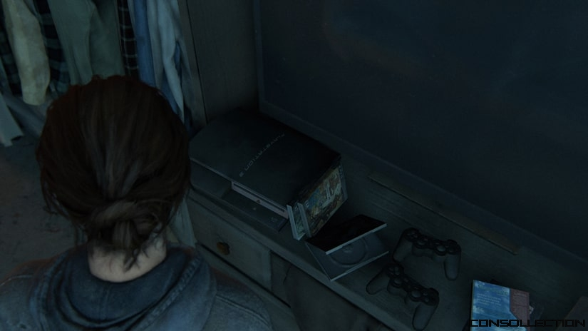 Une PlayStation 3 dans The Last of Us 2