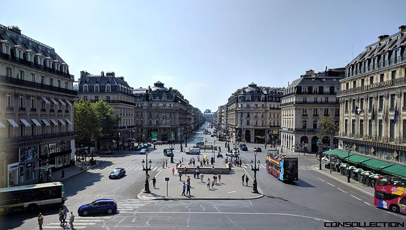 Vue de l'avenue de l'Opera