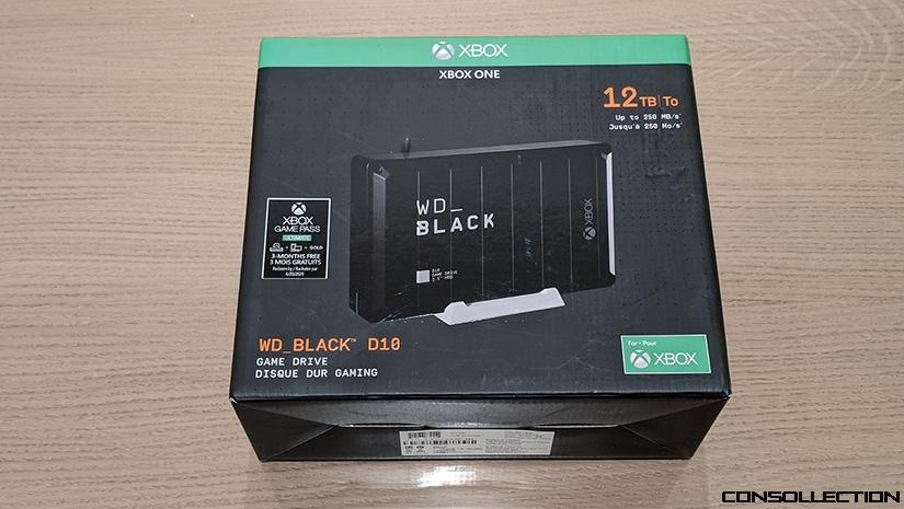 WD BLACK D10