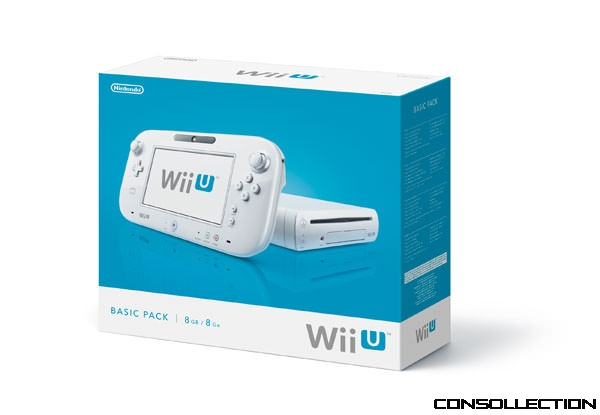 Wii U - Basic PACK - 8Go