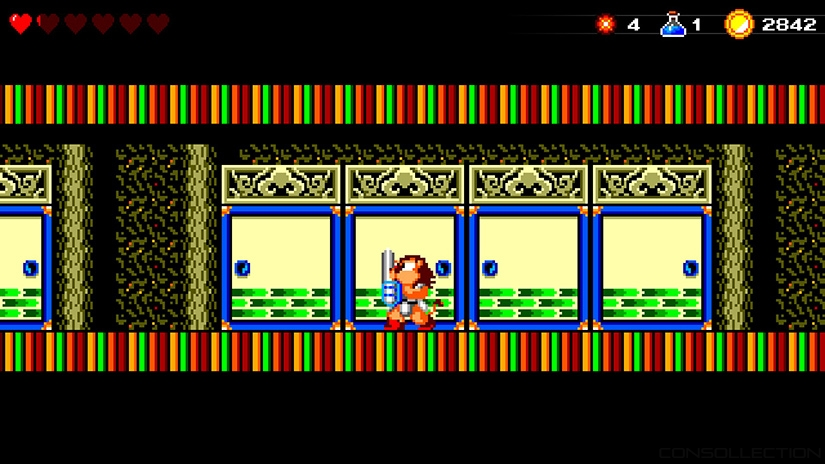 Wonder Boy: The Dragon´s Trap version retro