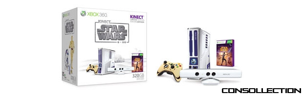 Xbox 360 Kinect Star Wars en �dition limit�e
