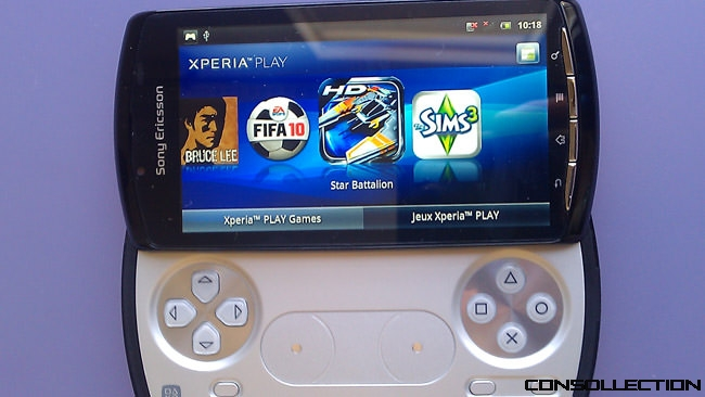 Xperia Play application playstation